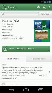 Plant and Soil - screenshot thumbnail