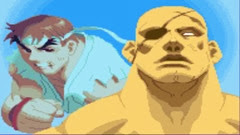 Street Fighter Alpha 2, Finais, Sagat