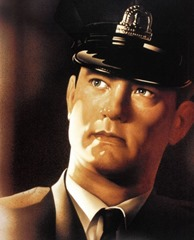 Tom Hanks in The Green Mile poster