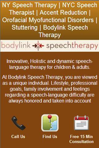 Bodylink Speech Therapy