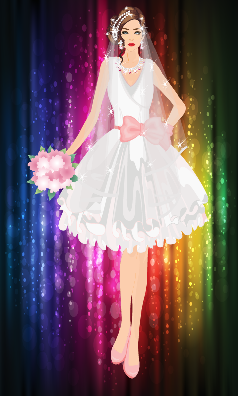 Modern Bride Dress Up Game - screenshot
