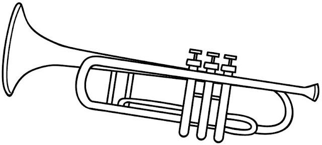 Colorear Dibujos De Saxofones