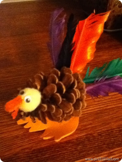 pinecone turkey craft obseussed turkey pinecone craft and thanksgiving books 2686