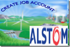 Alstom job account