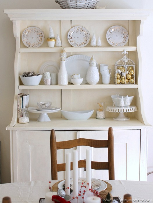 White & Gold Holiday Hutch 2014 via homework - carolynshomework (6)