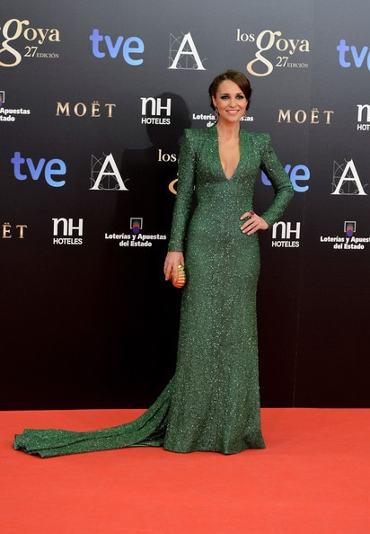 Paula Echevarria Goya Cinema Awards 2013 Red