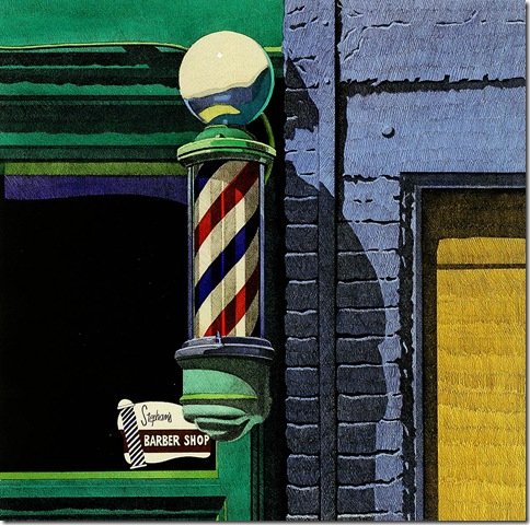 robert_cottingham_Barber Shop_1989