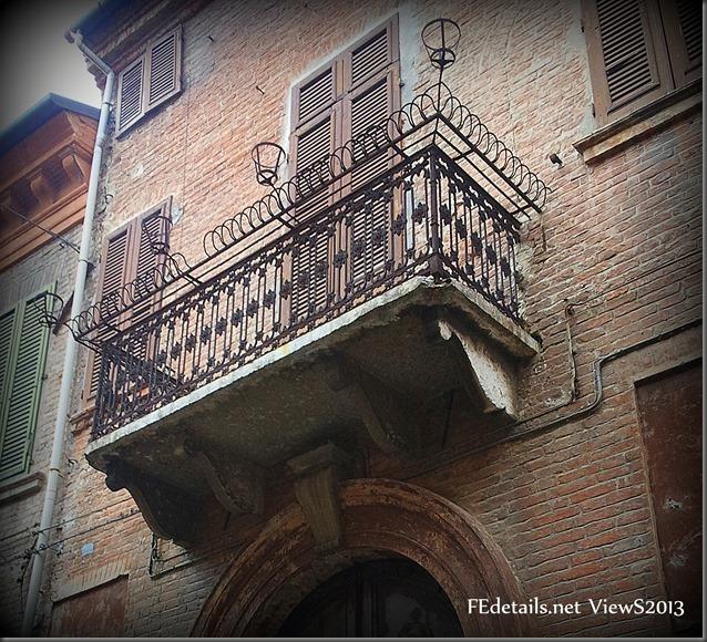 Balconcini ferraresi - Ferrara balcony, Ferrara, Italy - Photo2