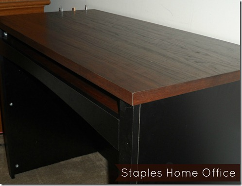 Staples desk