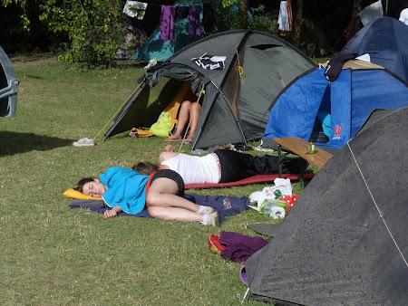 Camping Ungaria: se doarme la Sziget