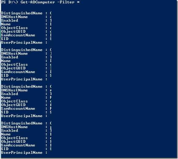 New Delhi PowerShell User Group : Powershell and Active