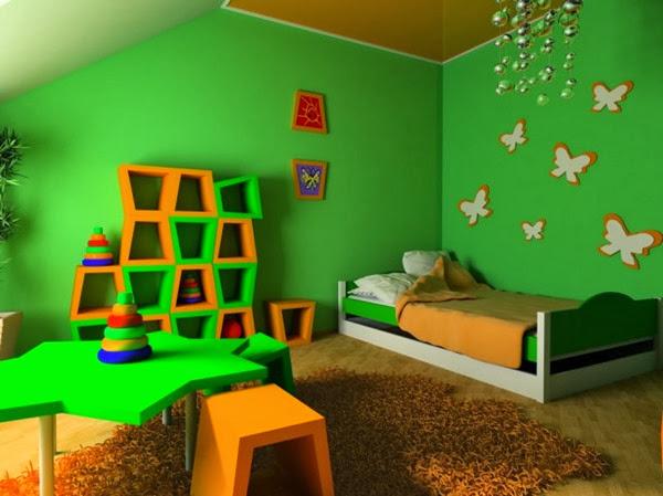 decoracion-habitacion-infantil-verde