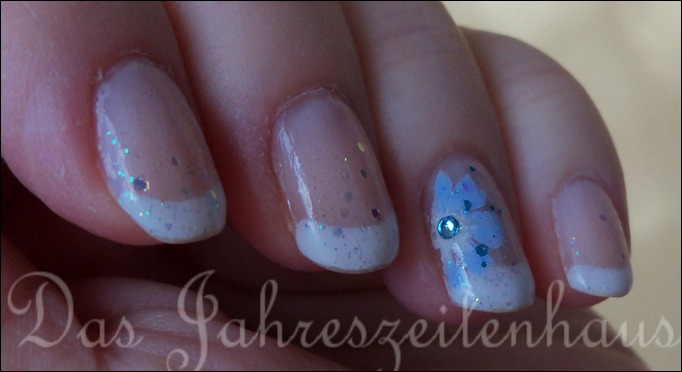 Nageldesign Eisblumen 3