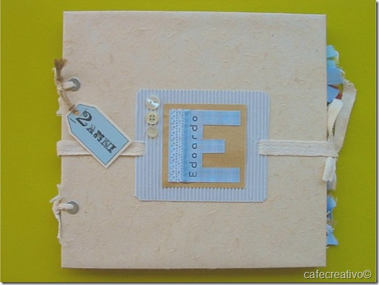 scrapbooking - mini album edo