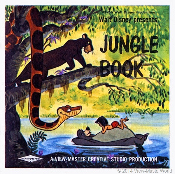 View-Master Jungle Book (B363): Booklet Cover