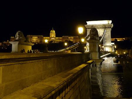 Obiective turistice Ungaria: Podul cu lanturi Budapesta