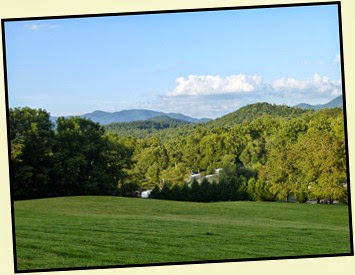 07m - Rivers Edge RV Park - Blue Ridge Mountains in Background