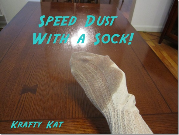 Speed Dust With A Sock