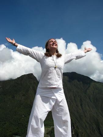 Iunia Pasca in Peru