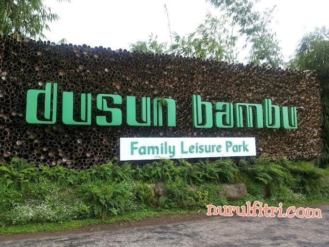 Menikmati Taman Bunga dan Kulineran di Dusun Bambu