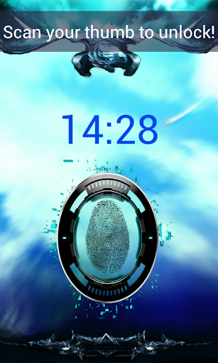 Fingerprint Locker GPS Pro