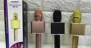 MIC KARAOKE SD-13 LOẠI 1- Có Cổng USB Và Thẻ Nhớ - ÂM THANH CỰC HAY