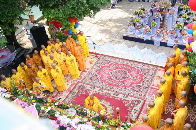 IMG 1815 Đại lễ Phật đản PL 2557 tại Tu viện Quảng Hương Già Lam