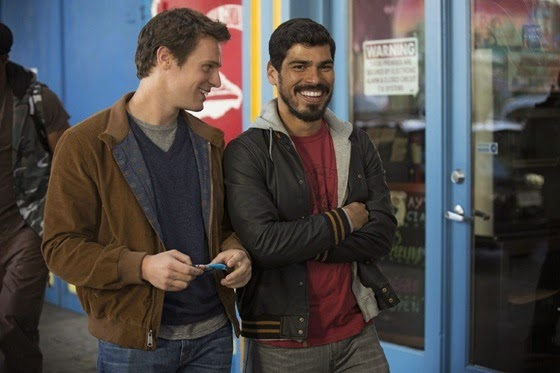 Jonathan Groff and Raul Castillo in Looking