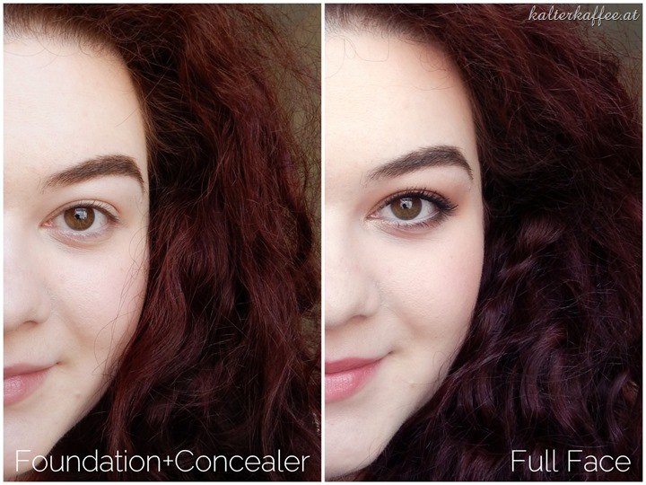 L'Oréal True Match Foundation applied
