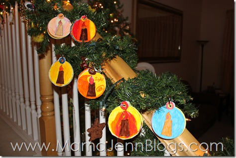 Printable Truth in the Tinsel Ornaments: Laminated with BLING on a RING
