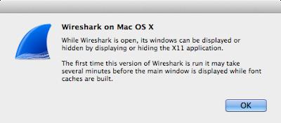 Wiresharkダイアログ
