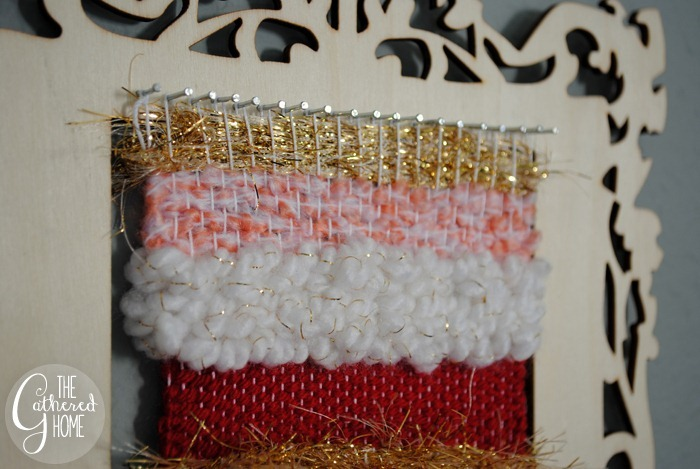 DIY Miniature Woven Wall Hangings | www.thegatheredhome.com #weaving #wallhanging #tutorial