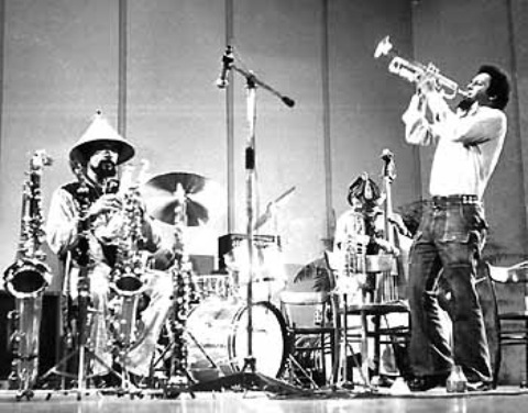 Art Ensemble of Chicago a Bergamo (piccola)(NV 1974)
