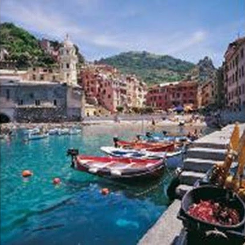 The Rewards of Walking the Cinque Terre.