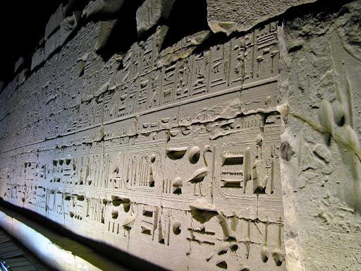 Luxor-Egypt-show - Sound & Light Show at the famed Karnak Temple in Luxor, Egypt.