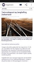 Screenshot of NU.nl