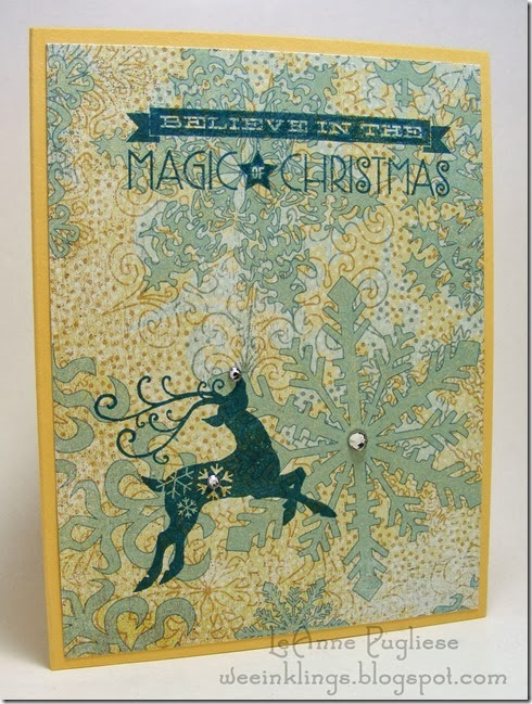 LeAnne Pugliese WeeInklings Merry Monday 88 Christmas Stampin