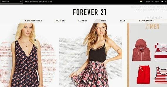 Forever 21 shop online