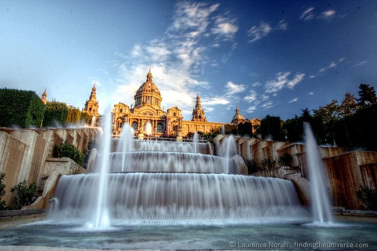 1 Day in Barcelona - Barcelona Magic Fountain
