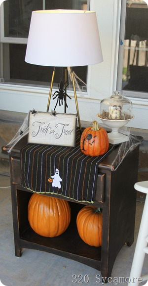 front porch halloween ideas