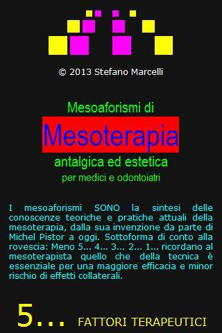 Corsi di Mesoterapia