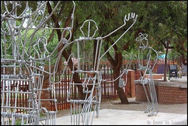 Installation art in Soweto