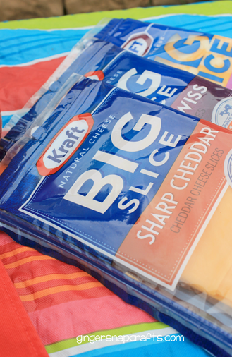 Kraft natural cheese BIG slice #spon