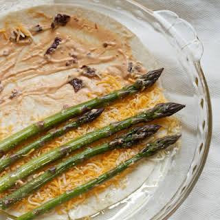 Asparagus Chipotle Quesadillas.