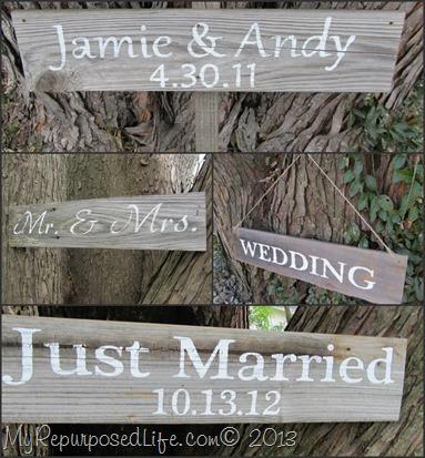 bride & groom collage