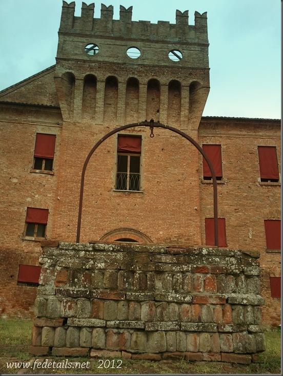 Delizia di Benvignante ( dettaglio pozzo-torre ),Ferrara, Emilia Romagna, Italia - Delizia of Benvignante ( detail tower-well ), Ferrara, Emilia Romagna,Italy