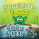 Toddler ABCs & 123s Pond Life logo