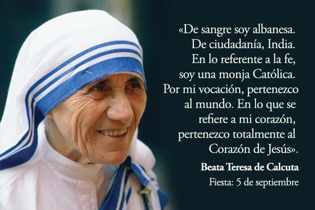 Dichos De La Madre Teresa 3 Quotes Links