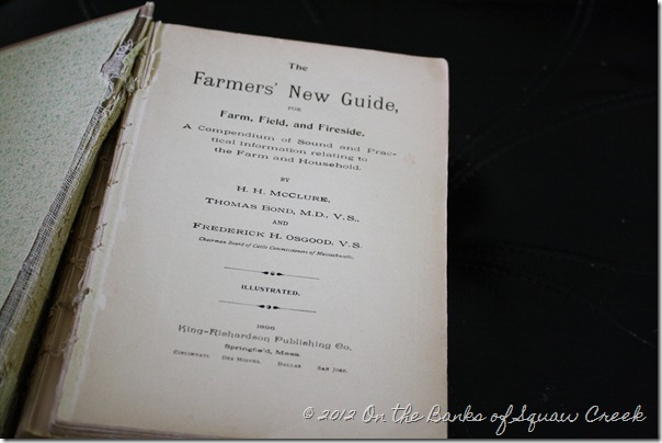 Antique Farmers' Guide