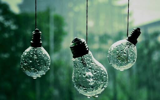 Bulbs Closeup Lights Hanging Macro
